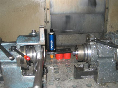 PCS with Magnetic Bracket on Machining Center